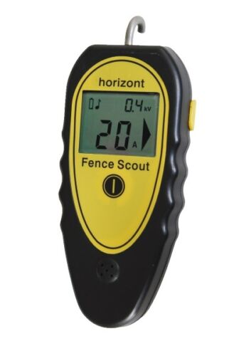 Messgerät für Zaunspannung//Stromstärke//Fehlerfinder HORIZONT fence-scout II