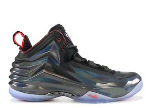 huge selection of 8bbb6 5229c Image is loading Nike-Chuck-Posite-Charles-Barkley-Purple-Haze-Black-