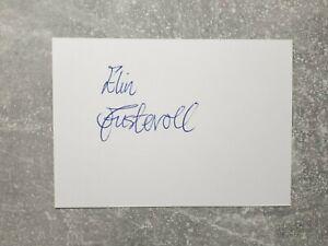 KK m.Orig.AG Elin Austevoll NOR Schwimmen 2.EM 94 - Kurzbahn Rarität!