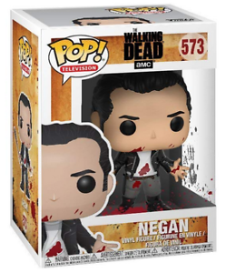 Clean Shaven The Walking Dead 9cm #573 Negan Funko POP Television
