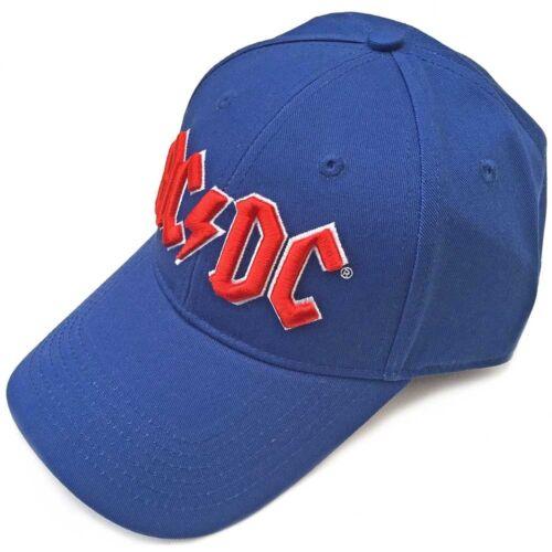 Red Logo mid Blue Ac//dc Men/'s Baseball Cap