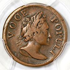 1760 N-3 PCGS VF 30 Voce Populi, VOOE Colonial Copper Coin