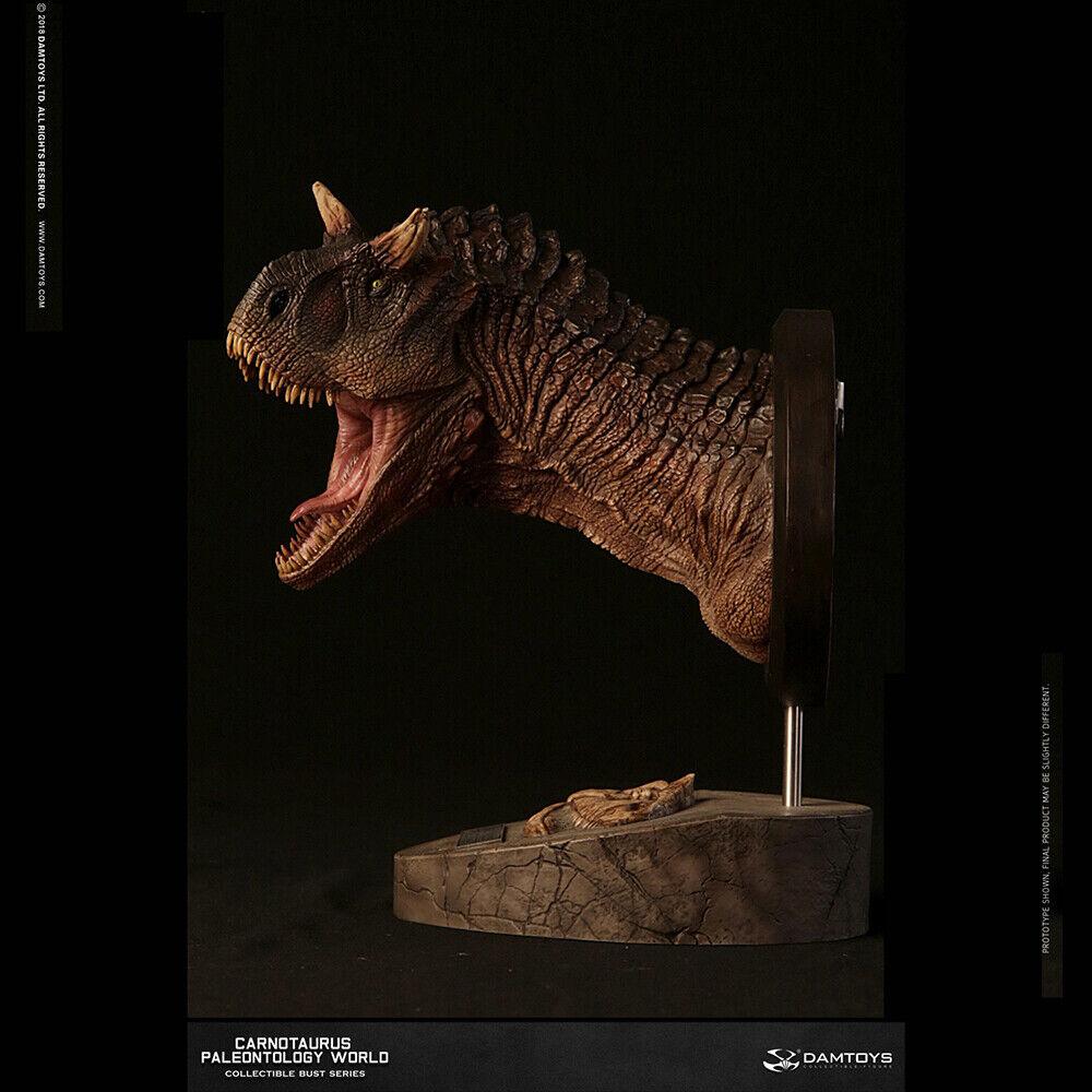 DAMTOYS MUS005 B Museo serie Jurassic Park Cochenotaurus Estatua Busto Modelo Juguetes