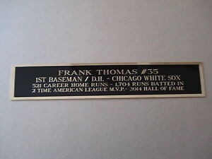 Frank-Thomas-White-Sox-Nameplate-For-An-Autographed-Baseball-Photo-Bat-1-5-X-6