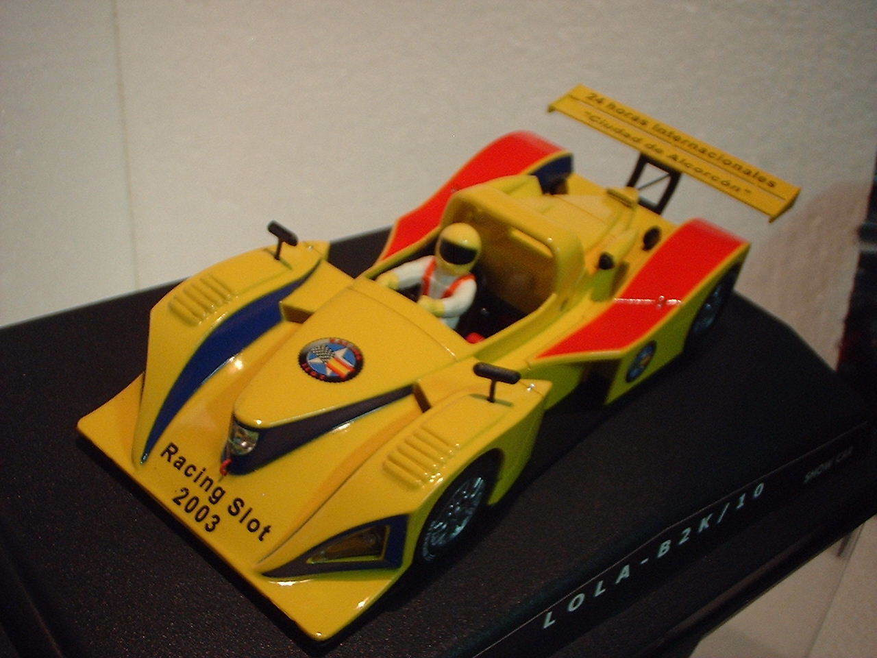 Qq SPIRIT LOLA B2K 10 SHOW CAR 24 h Internazionale ALCORCON 2003 LIMITED EDITION