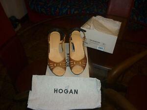 SCARPE DONNA HOGAN abbigliamento tod's sandali VERA PELLE moda calzature 41