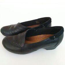 Cobb Hill Giada Womens Shoe Size 6 B Black Leather Comfort Dress Shoe Rockport