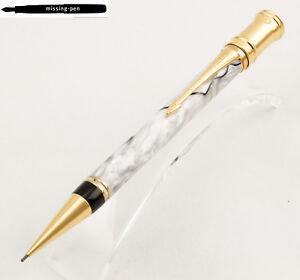 Parker-Duofold-Bleistift-de-Luxe-Opal-Pearl-White-0-9-mm-Internationale-Groesse