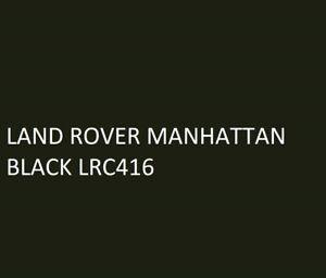 LAND ROVER MANHATTAN BLACK Agricultural Machinery Equipment Enamel Gloss Paint