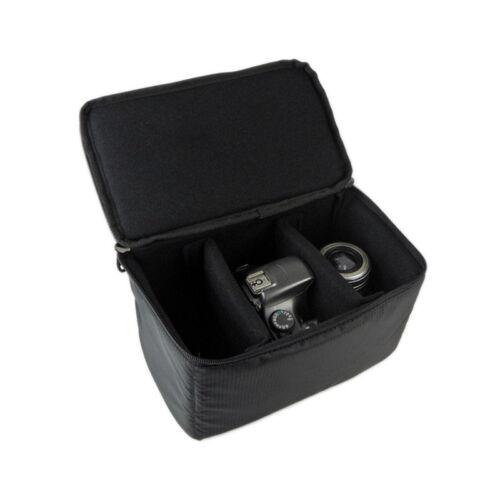Cámara SLR Impermeable DSLR caso bolsa con cremallera con Mango Suave Para Canon nikonsony