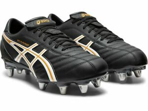 DOUBLE BARGAIN!!  Asics Lethal Warno ST2 Mens Football Boots (001)