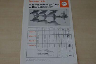 200359) Fella - Beetpflug Cäsar - Prospekt 1980 Duftendes Aroma