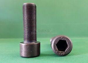60pcs M1,4 x 5mm Gewinde 304 Edelstahl Innensechskantschraube Zylinder DIN912
