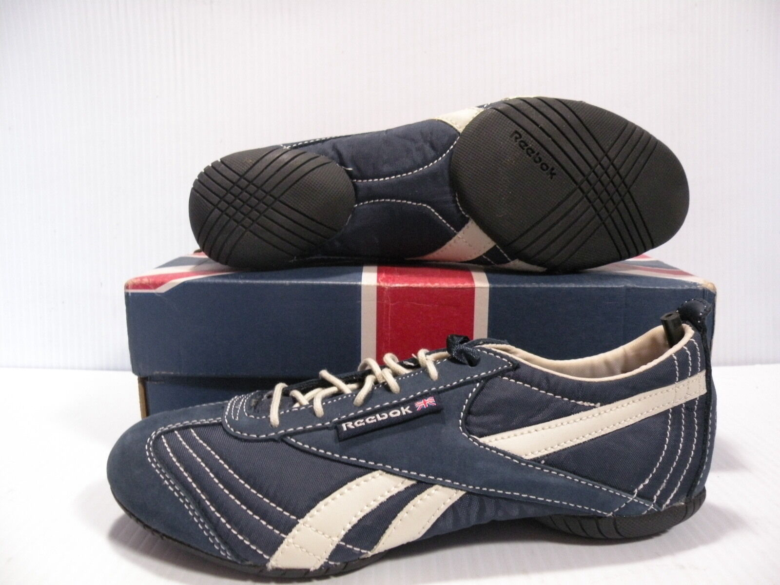 REEBOK ZENSWA NYLON LOW WOMEN SHOES NAVY 2-13987 SIZE 5.5 NEW