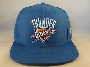 the latest 61a5e d4809 Image is loading NBA-Oklahoma-City-Thunder-Snapback-Hat-Cap-Adidas-