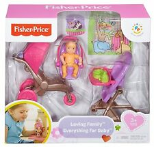 Fisher-Price Loving Family Everything for Baby (Including BABY), New in Package