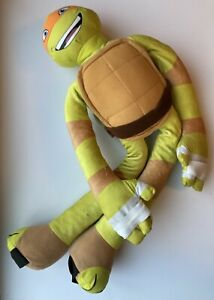 "** Large ** Teenage Mutant Ninja Turtles 30"" Plush Michelangelo TMNT"