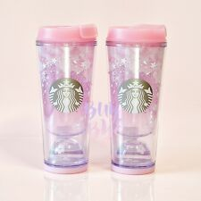 Starbucks Korea 2017 Cherry Blossom Waterball Tumbler 355ml