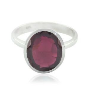 schoene-Edelstein-Oval-facettierten-Granat-Ring-925-Silber-Geschenk-Schwester-DE
