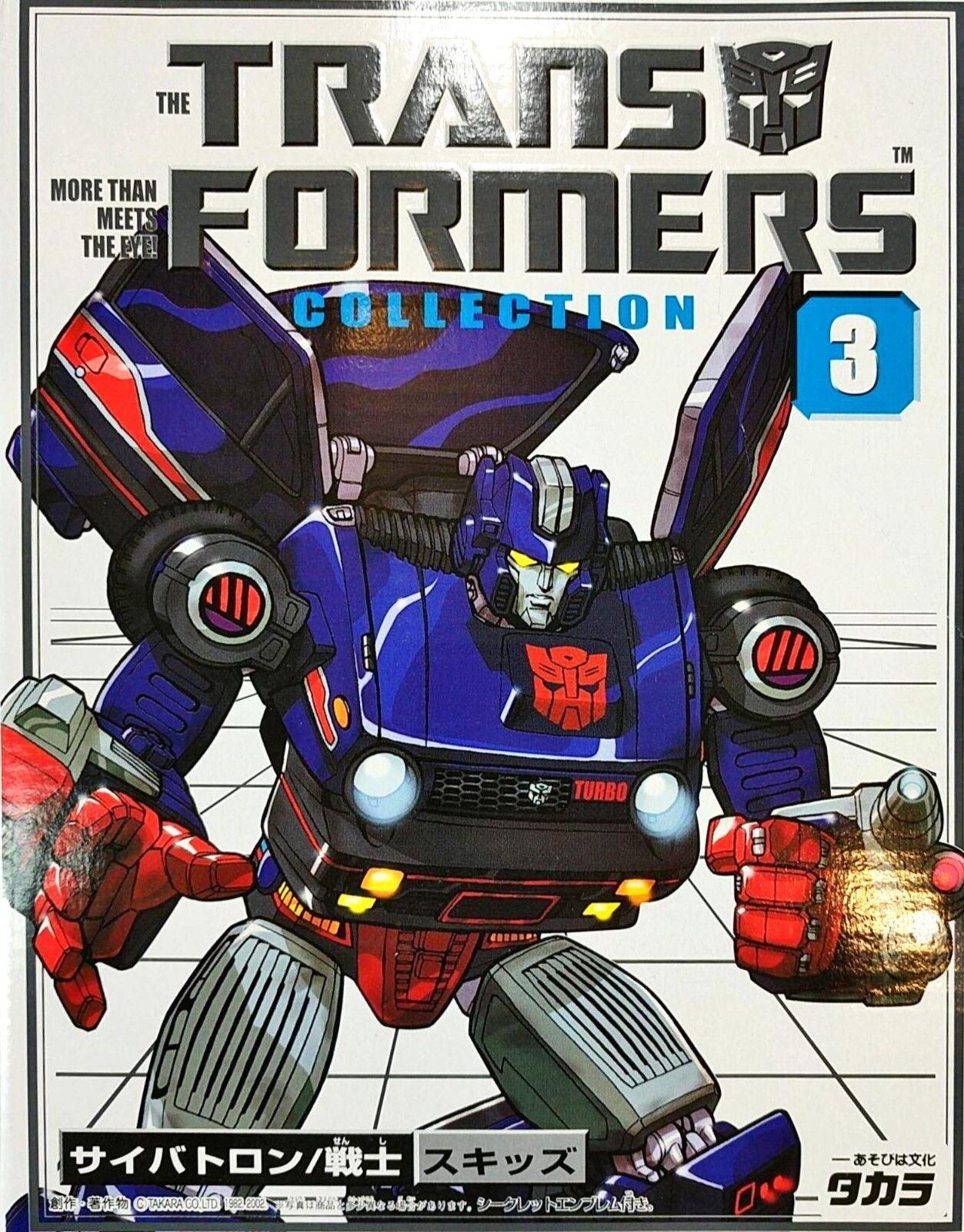 G1 transformers skidz tf sammlung takara buch neuauflage   3 versiegelt komplette minze