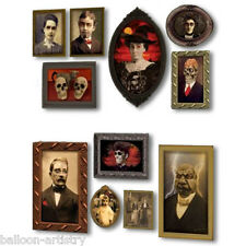 Halloween Haunted Mansion Scene Setter Add-on GOTHIC PORTRAITS