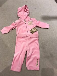 7ed24c24fc Details about BNWT Juicy Couture Tracksuit 3-6 Months
