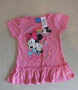 Disney Minnie Mouse M/ädchen Minni Maus Kleid