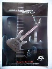 PUBLICITE-ADVERTISING :  Guitare PEAVEY V-Type  04/2003