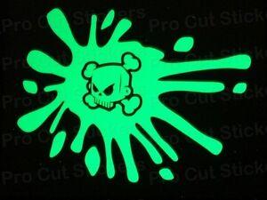 Hoonigan Ken Block Small to Large Glow in the Dark Luminescent Stickers Decals
