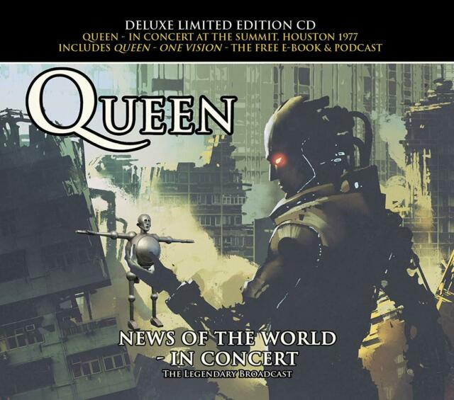 QUEEN - NEWS OF THE WORLD IN CONCERT: DELUXE LIMITED EDITION CD