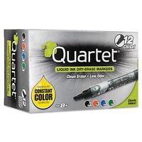 Quartet Enduraglide Dry Erase Marker Chisel Tip Assorted Colors 12/set 500118m on sale