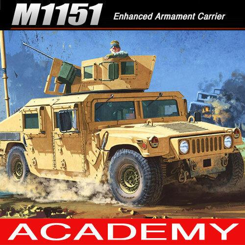 Modellbausätze 1//35 M1151 Enhanced Armament Carrier Academy
