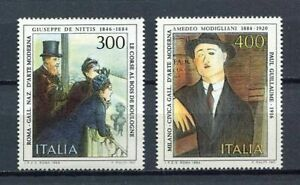 27898) Italy 1984 MNH New Paintings: De Nittis
