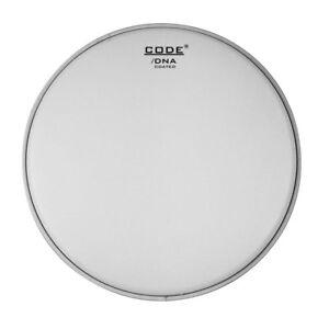code dna 12 coated single ply snare drum batter genetic snareside head pack set ebay. Black Bedroom Furniture Sets. Home Design Ideas