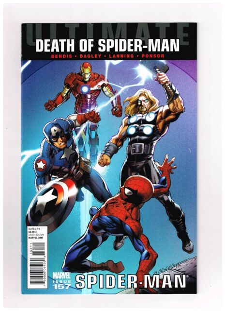 2011 Ultimate Death of Spider-Man Fear Itself #157 Marvel Comic Bag Board NMINT