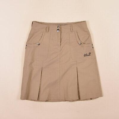 Jack Wolfskin Damen Rock Skirt Kleid Gr.36 Nanotex Urban Outdoor Beige 75456 | eBay
