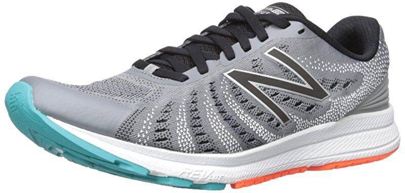 New correr Para hombre RUSHV 3 correr New Balance Zapato, Acero/Negro, nos 10 D 64faa3