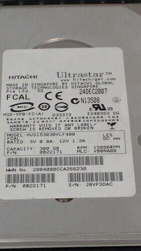 Hitachi 0B22171 300gb 15k Fibre Chan w//Tray HUS153030VLF400 92328-09