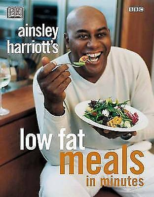 """1 of 1 - """"AS NEW"""" Ainsley Harriott's Low-Fat Meals in Minutes, DK Publishing, Harriott, A"""
