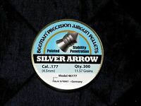 Beeman Silver Arrow .177 Cal. Pointed Pellets 11.57 Grain 300 Count In Round Can