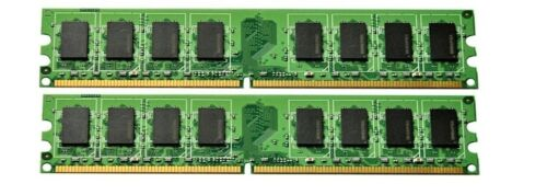 2x1GB New 2GB Memory eMachines T3604 DDR2 PC2-4200