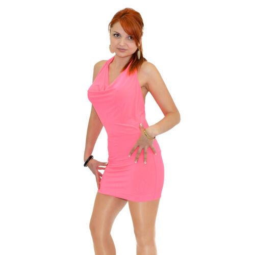 K08 Minikleid Partykleid Party Mini Kleid Abendkleid Cocktailkleid Cocktail