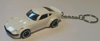 Importato Dall'Estero Hotwheels Custom Datsun 240z Portachiavi Auto Diecast-mostra Il Titolo Originale