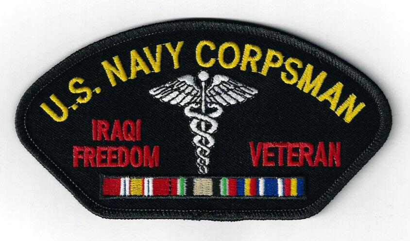 U S Navy Iraqi Freedom Veteran Patch
