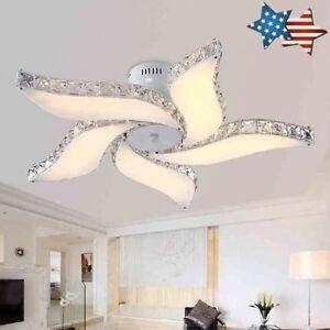 Superior Image Is Loading Modern Flower LED Crystal Ceiling Light Living Room