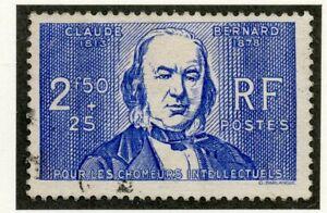 Raisonnable Stamp / Timbre De France Oblitere N° 464 Claude Bernard Cadeau IdéAl Pour Toutes Les Occasions