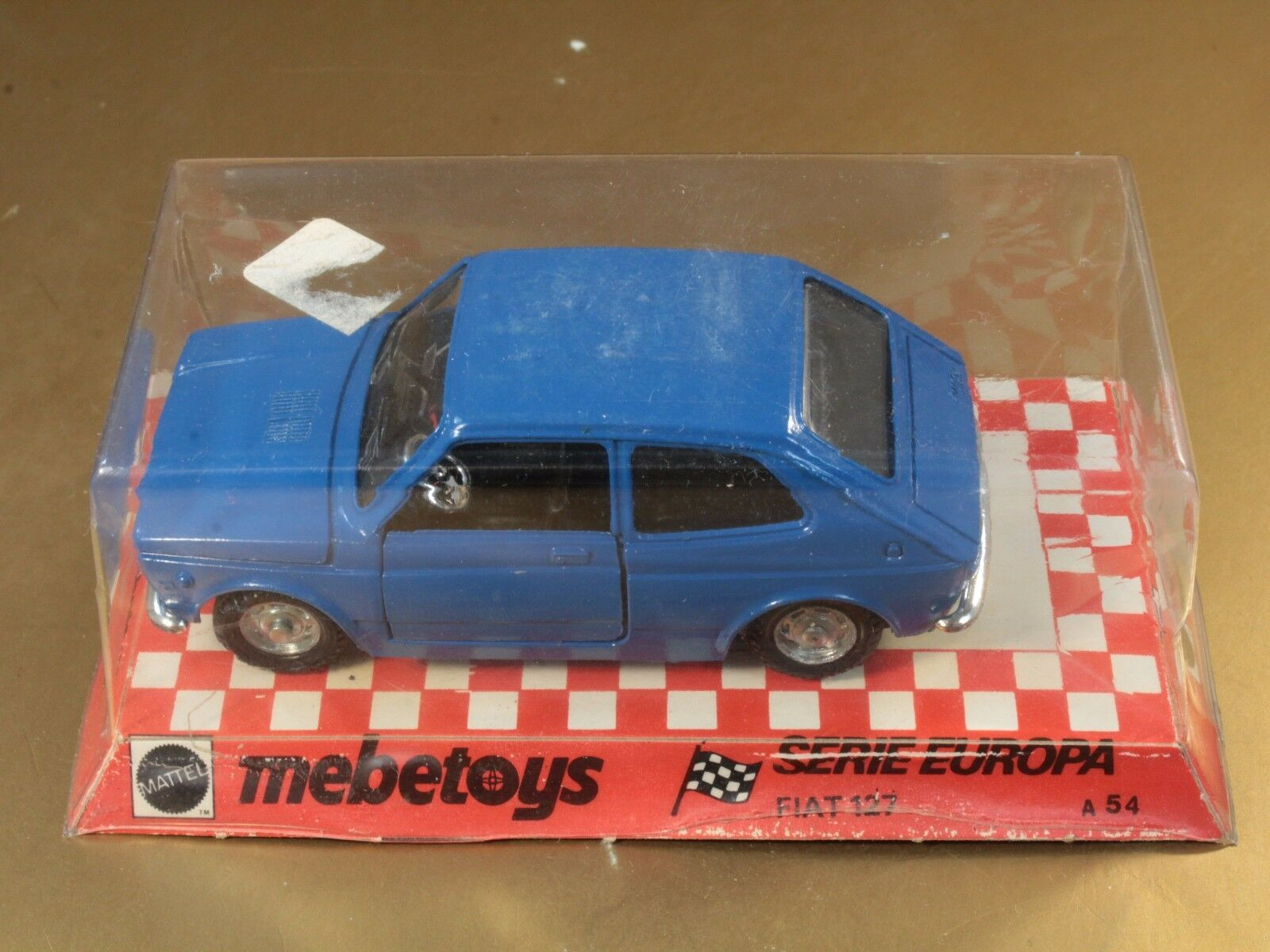 Mattel MEBETOYS a54 II 2 ° Series Europe fiat 127 NEW inventory Fund [oh3-024]