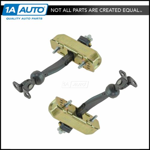 Door Check Pair Set of 2 LH Driver /& RH Passenger Front for 04-08 Ford F150 New