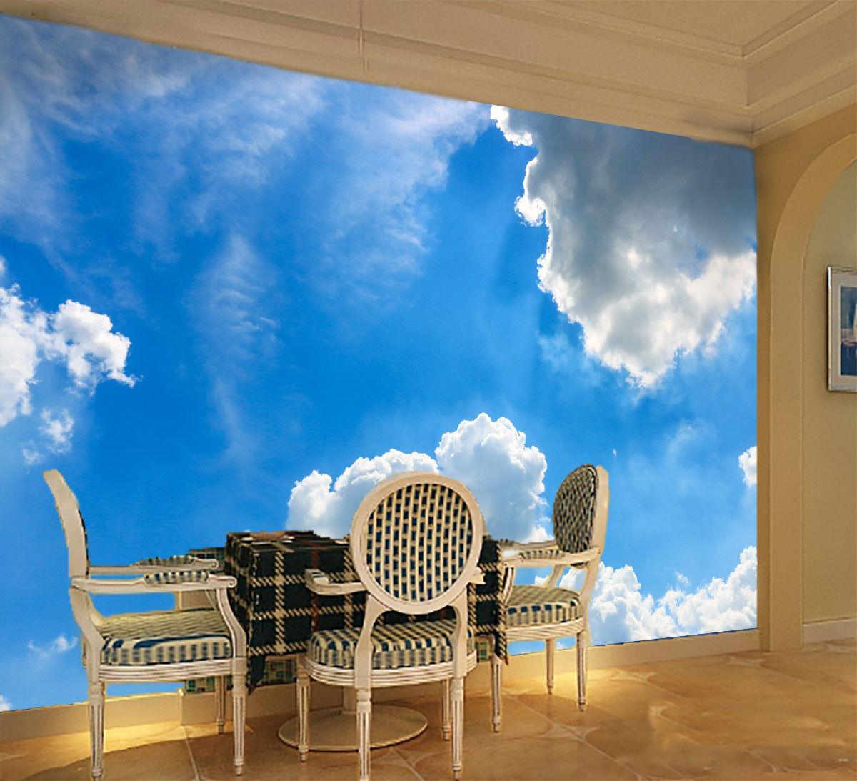 3D Weiße Wolken Himmel Himmel Himmel 9 Tapete Wandgemälde Tapete Tapeten Bild Familie DE Lemon | Genial  | Qualität und Quantität garantiert  | Ausreichende Versorgung  93aeb5