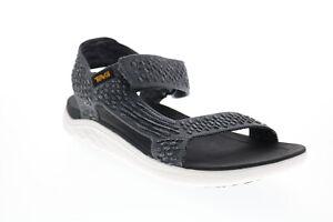 Teva Terra Float 2 Knit Evolve 1099432-DKSW Mens Gray Canvas Sport Sandals Shoes
